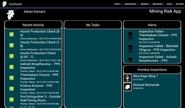 HSE Compliance (Tablet) apk screenshot