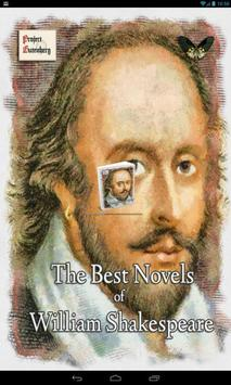 Novels of William Shakespeare poster