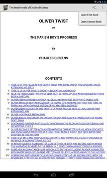 Novels of Charles Dickens apk screenshot