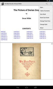 Novels of Oscar Wilde apk screenshot