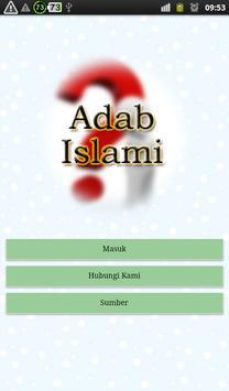 Adab Islami poster