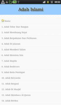 Adab Islami apk screenshot