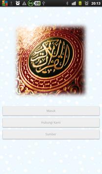 40 Hadits Keutamaan Al-Qur'an poster