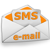 SMS to e-mail icon