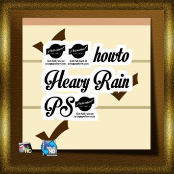 50 howto Heavy Rain PS3 apk screenshot