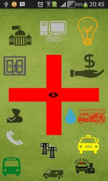 Emergency Contacts poster