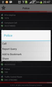 Emergency Contacts apk screenshot