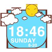 Sunshine Clock Widget icon