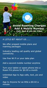 Roam Frii - Free Calls & Texts poster