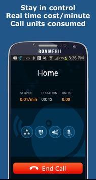 Roam Frii - Free Calls & Texts apk screenshot