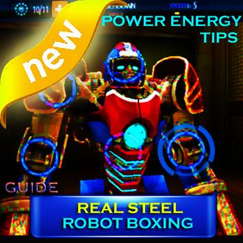 Power Robot Real Steel Tips poster