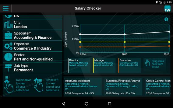 Salary Checker apk screenshot