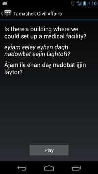 Tamashek Civil Affairs Phrases apk screenshot