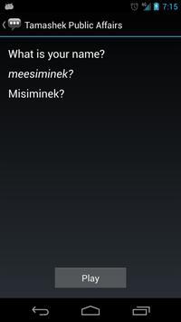 Tamashek Public Affairs apk screenshot