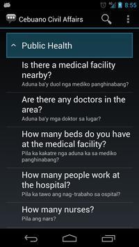 Cebuano Civil Affairs Phrases apk screenshot