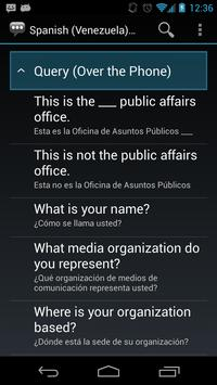 Spanish (Venez.) Pub. Affairs apk screenshot