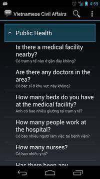 Vietnamese Civil Affairs Phr. apk screenshot