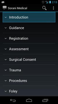 Sorani Medical Phrases apk screenshot