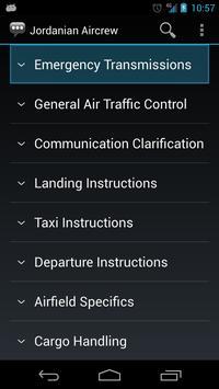 Jordanian Aircrew Phrases apk screenshot