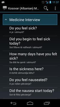 Kosovar (Albanian) Medical apk screenshot