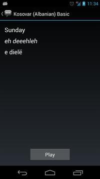 Kosovar (Albanian) Basic Phr. apk screenshot