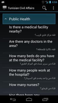 Tunisian Civil Affairs Phrases apk screenshot