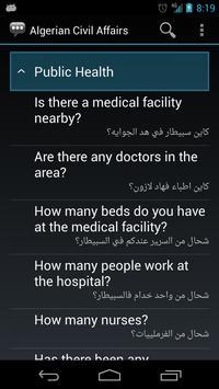 Algerian Civil Affairs Phrases apk screenshot