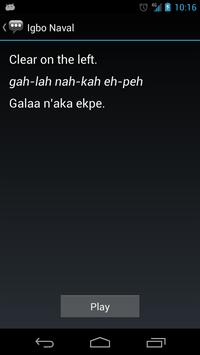 Igbo Naval Phrases apk screenshot
