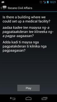 Ilocano Civil Affairs Phrases apk screenshot