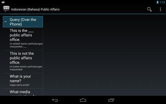 Indonesian Public Affairs Phr. apk screenshot