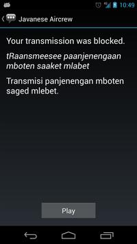 Javanese Aircrew Phrases apk screenshot