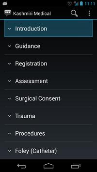 Kashmiri Medical Phrases apk screenshot