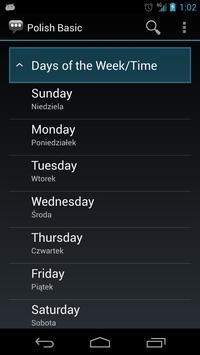 Polish Basic Phrases apk screenshot