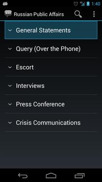 Russian Public Affairs Phrases apk screenshot