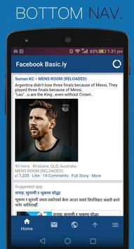 Basic for Facebook- Save Money poster