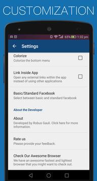 Basic for Facebook- Save Money apk screenshot