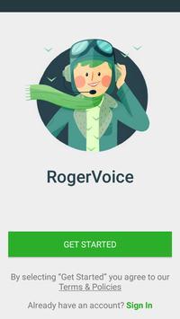 RogerVoice Caption Calls poster