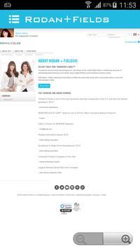 Rodan+Fields Online Ordering apk screenshot