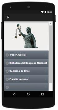 Chile Abogados Leyes apk screenshot