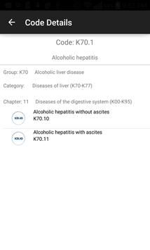 ICD10 Lookup apk screenshot