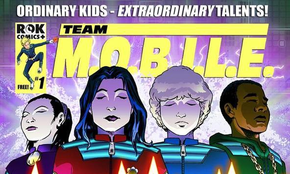 Team M.O.B.I.L.E Comic poster
