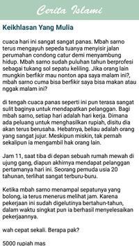 Cerita Islami apk screenshot