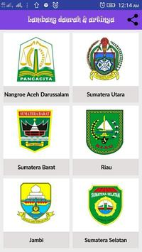 Logo Daerah Indonesia poster