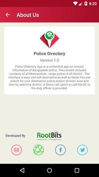 Police Directory Bangladesh apk screenshot