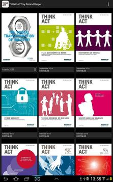 THINK ACT by Roland Berger poster