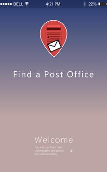 Find A Post Office poster