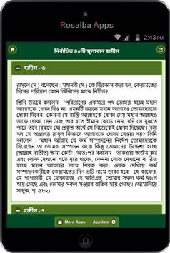 নির্বাচিত ৪০টি মূল্যবান হাদীস apk screenshot