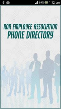 Phone Directory REA poster