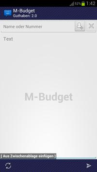 WebSMS: M-Budget Connector apk screenshot