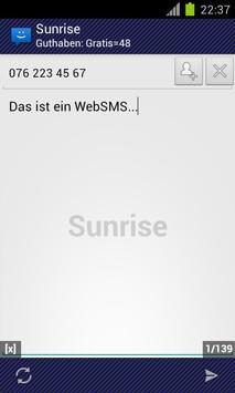 WebSMS: Sunrise Connector apk screenshot